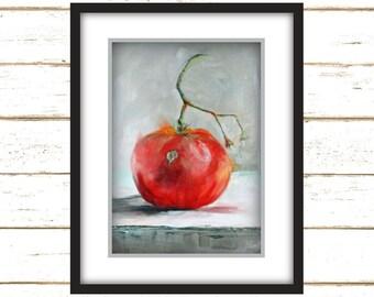 Wild Tomato - Art Print - Large Wall Art