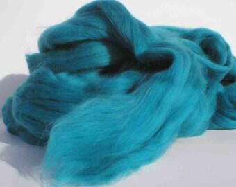 "Ashland Bay Solid Colored Merino for Spinning or Felting ""Seafoam""  4 oz."
