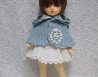 Sales Super Dollfie Yo SD Littlefee Blue Cape One Piece Set