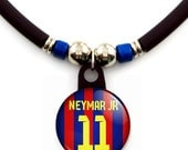 Neymar Jr FC barcelona jersey necklace