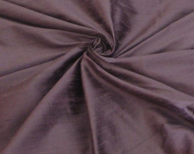 Unique Purple 100% Dupioni Silk Fabric Wholesale Roll/ Bolt