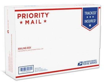 Priority Mail upgrade for your purchases