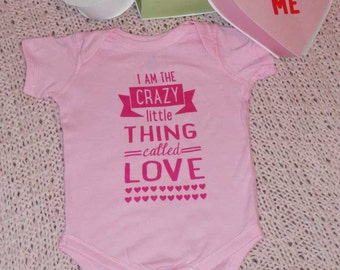 I Am The Crazy Little Thing Called Love - Valentine's Day Bodysuit