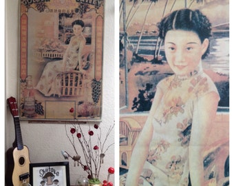 Vintage shanghai girl poster