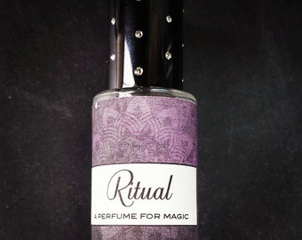 RITUAL Perfume Oil  // A Perfume for MAGIC // Spices Resins Magical Flowers and Herbs