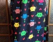Bob Mackie Cat Skirt