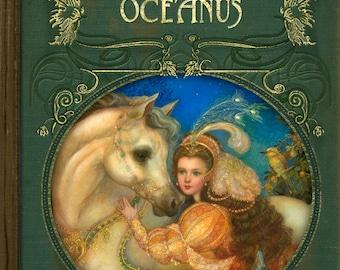 """SALE STANDARD EDITION Sketchbook """"Daughters of Oceanus"""""""