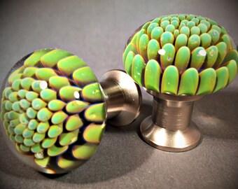 Green Moss Drawer Pull