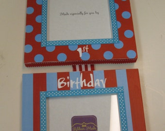 Twins 1st Birthday Hanging Frame -   Thing 1 and Thing 2