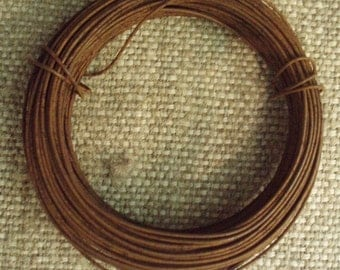 30' Spool of Rusty Wire~ 22 gauge wire for crafting by cheswickcompany