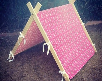 A-Frame Tent - Childrens Tent - Fold Up Play Tent - Photo Prop Tent - Childrens Christmas Gift Idea