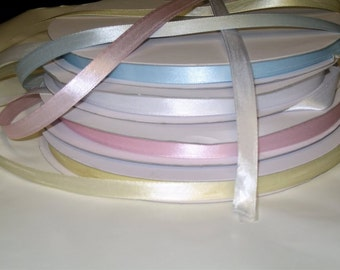 "Satin Ribbon Size 3/8"", 100 Meters (109.3 Yards)"