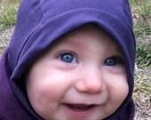 Babys Merino Wool Bala clava Hat