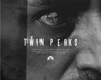 Twin Peaks alternative tv show poster