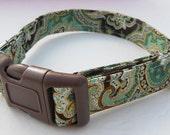 Metallic Medallion Adjustable Collar - Made to order -