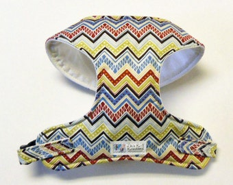 Chevron Comfort Soft Dog Harness - Made to order -