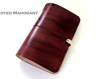 Leather Cover for Moleskine Large Cahiers and Midori TRAVELER'S notebooks
