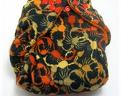 Ready to Ship Scorpions One Size Cloth Diaper by Los Chiquitos