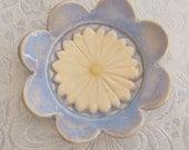 Spoon Rest or Tea Bag Holder Handmade Ceramic Pottery Stoneware