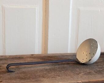 Vintage blue enameled ladle ...Sale