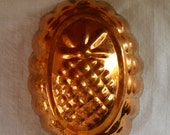 VINTAGE COPPER PINEAPPLE Mold Heavy Copper Cookeware Mold Baking Copper Pineapple Hanging Copper Pudding Mold Well Stocked Copper Kitchen