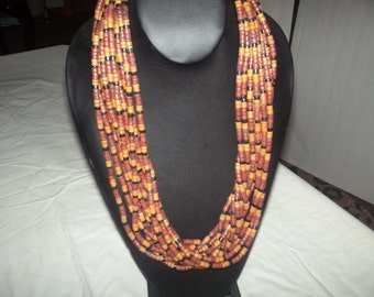 Vintage  African bead from the 1980's