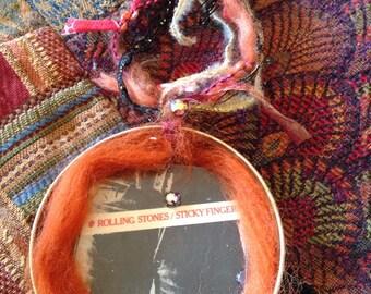 Vintage Album Cover Art Ornament . Rolling Stones
