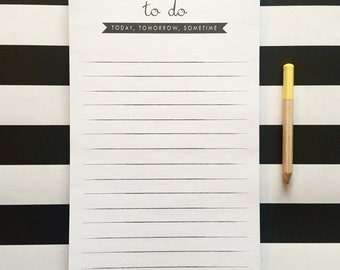 TO-DO sometime notepad