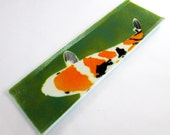 Custom made koi appetizer trays (2) with Koi design