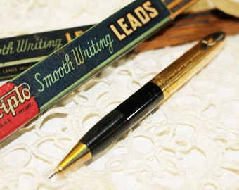 Small Mechanical Pencil and 2 Scripto Lead Boxes, Vintage