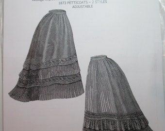 Ageless Patterns #1293 - 1873 petticoats, 2 styles, adjustable