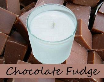 Chocolate Fudge Scented  Candle in Tumbler 13 oz