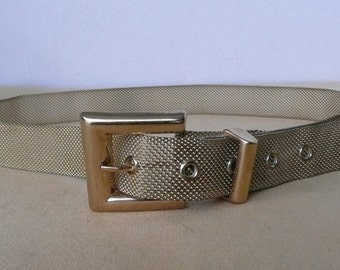 REDUCED - Ladies Fancy Gold Mesh Belt