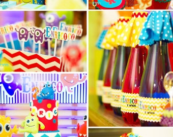 Monster Birthday | Monster Party | Monster Party Printable | Monster Decorations | Monster Printable