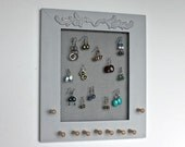 Jewelry Holder Display for Earrings Holder - Necklace and Bracelets Organizer.