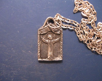 St. Genesius: Patron of Actors and Actresses, Handmade Medal