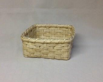 Hand Woven Square Napkin Basket