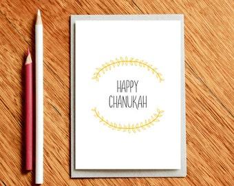 Chanukah Card, Hannukah card, Hanukkah Card, Chanukkah Card, Card for Chanukah, Card for Chanukkah, Card for Hanukkah, Jewish Holiday Card,