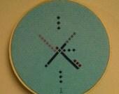 PDX Carpet Cross Stitch Pattern
