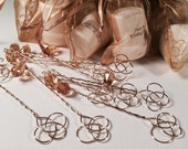 Steampunk Wedding Favors - 50 Bubble Wand Favors - Personal Message on Bubble Bottles - Match any Wedding or Party Theme