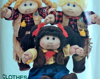 Vintage – Pattern for Cabbage Patch Kids CLOTHES – Butterick No. 6826