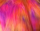 Multi Color Sherbert Pink/Orange/Lavender