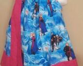 Disney Frozen Baby Girl  Custom Boutique Pillowcase Dress  Sizes Availible Newborn - 6yr