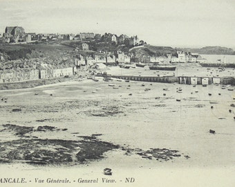 French Vintage Unused Postcard - Cancale, Brittany, France