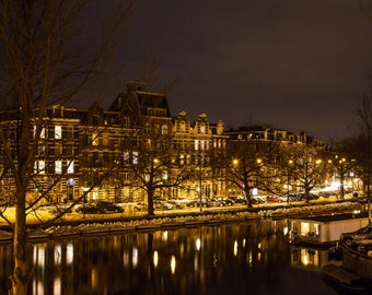 Night in Amsterdam Photograph