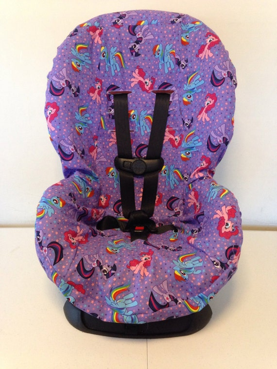 items similar to my little pony fabric toddler and infant convertible car seat cover fits cosco. Black Bedroom Furniture Sets. Home Design Ideas