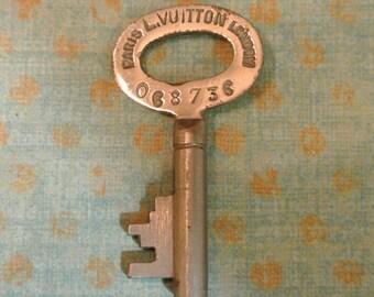 Authentic Antique Louis Vuitton Trunk Key