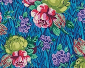 Amy Butler Fabric - Tapestry Rose in Sapphire from the Hapi Collection