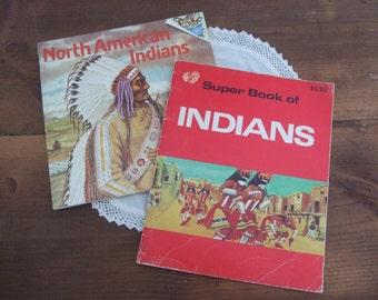 Vintage North American Indian Book Set