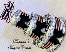 Airplanes Baby Diaper Cake Biplane Shower Centerpiece Gift
